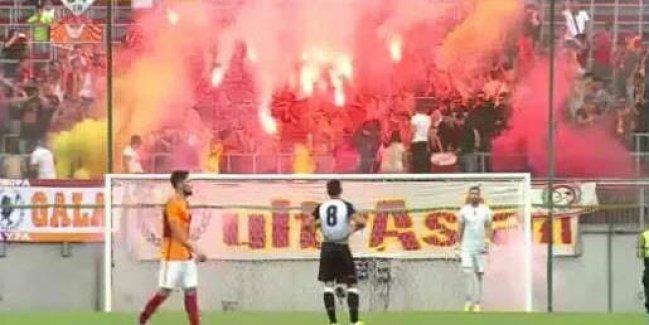 Photo of G.Saray-Udinese maçı ses bombaları ve meşalelerin kurbanı oldu