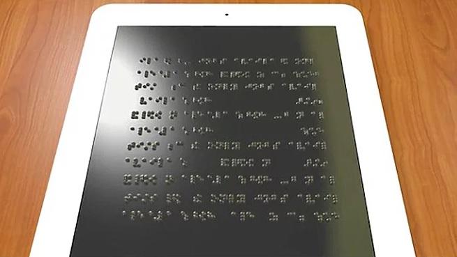 Photo of Görme engelliler için e-kitap okuyucu