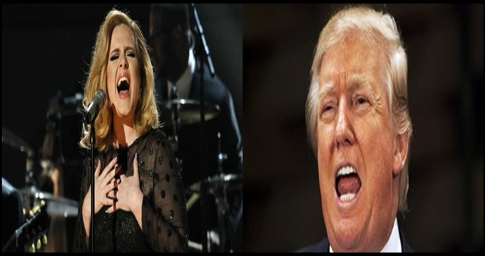 Photo of Trump ilk yenilgiyi Adele'den tattı