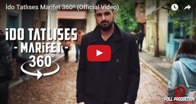 Photo of İdo Tatlıses'in Marifet 360 klibinde müzik dünyasında bir ilk