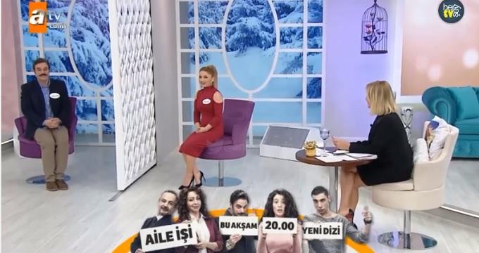 Photo of Ufuk Özkan yeni dizisi Aile İşi'ni Esra Erol'da tanıttı-izle