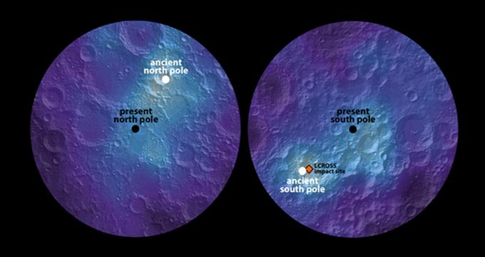 Photo of Dünyanın uydusu Ay'ın ekseni kaydı