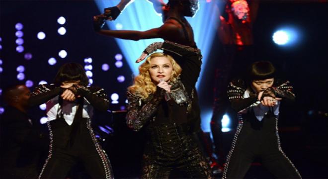 "Photo of Madonna: ""Sahnede sarhoş değilim"""