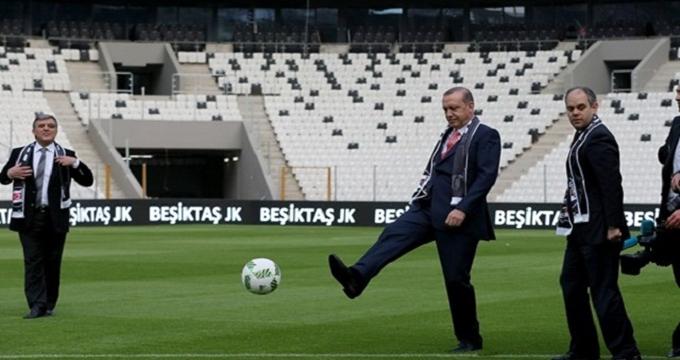 Photo of Kartal yuvası Vodafone Arena'da ilk santra Cumhurbaşkanı Erdoğan'dan