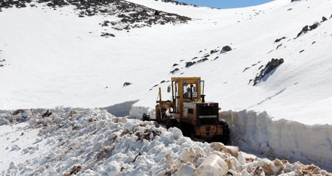 Photo of Böylesi görülmedi, Nisan ayında Antalya'da kar