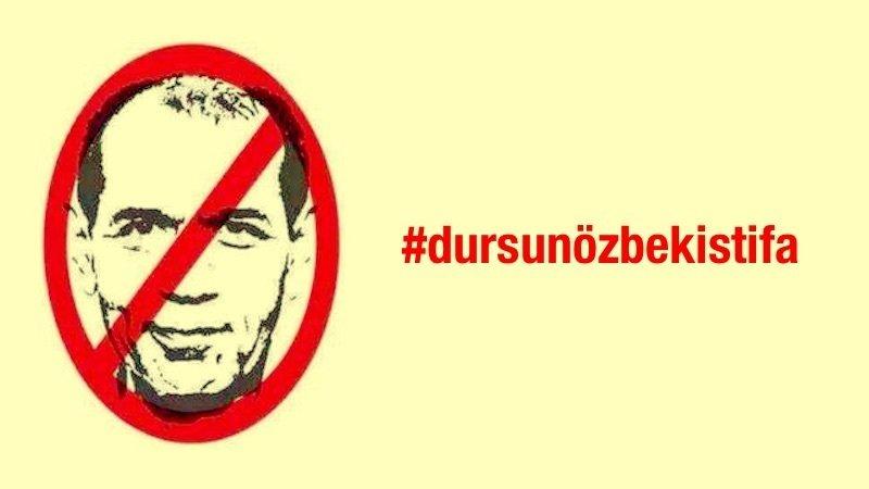 """Photo of Galatasaray taraftarından """"Dursun Özbek İstifa"""" kampanyası"""