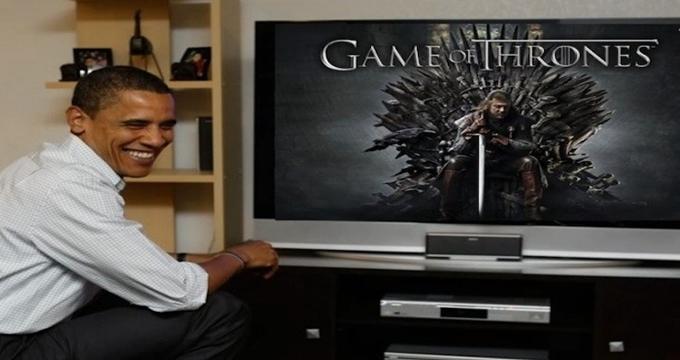 Photo of Game of Thrones'un yeni bölümlerinin ilk izleyicisi Obama