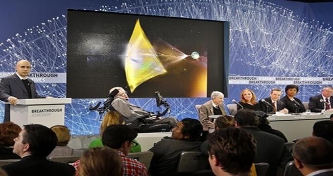 Photo of Hawking'in yıldızlara yolculuk projesine milyarder Rus desteği