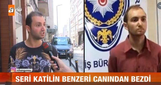 Photo of Seri katil Atalay Filiz'e benzeyen gencin isyanı