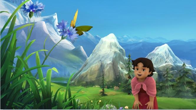 Photo of Çizgi film Heidi 3D olarak TRÇocuk'ta başlıyor