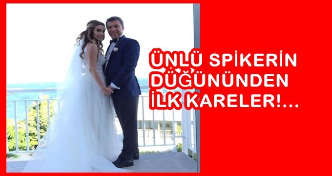 Photo of İsmail Küçükkaya evlendi… Ünlü habercinin düğününden ilk kareler