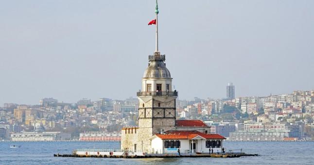 Photo of Kız Kulesi'nde korkutan yangın!