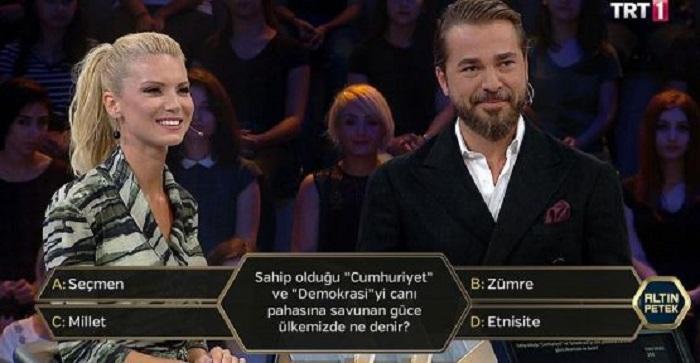 Photo of Engin Altan Düzyatan ve Pelin Çift, Altın Petek'te şehit aileleri için yarıştı