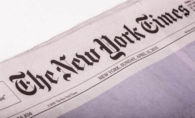 Photo of New York Times gazetesi skandal başlığını değiştirdi