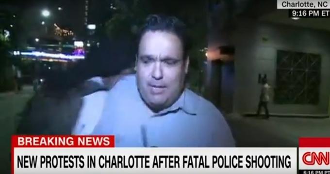 Photo of CNN muhabirine canlı yayında saldırı