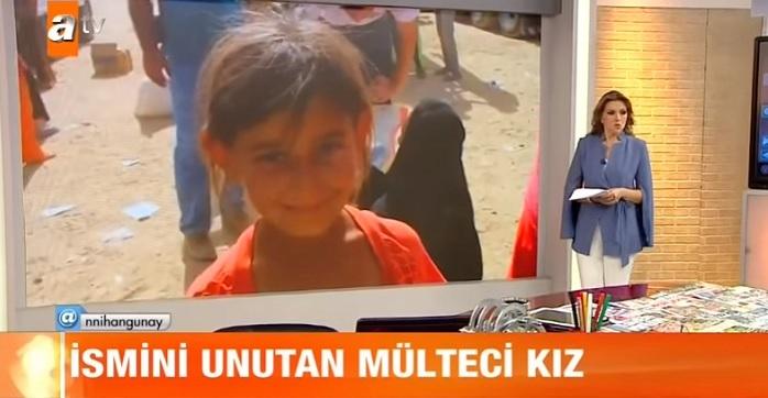 Photo of Suriyeli mülteci kızın dramı Nihan Günay'a canlı yayında zor anlar yaşattı