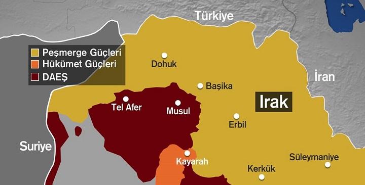 Photo of Irak Musul Operasyonu başladı, Adım adım Musul Operasyonu son dakika gelişmeleri