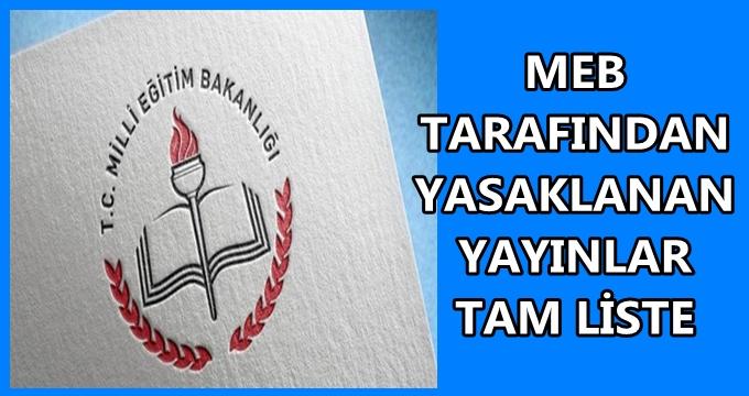 Photo of Öğretmenler dikkat! MEB yasakladığı halde o yayınlar piyasada! MEB yasaklı yayınlar listesi (güncel)