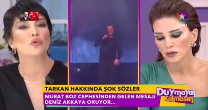 Photo of Deniz Akkaya'dan canlı yayında şok iddia! Murat Boz'un menajeri Tarkan'ı nasıl aşağıladı?