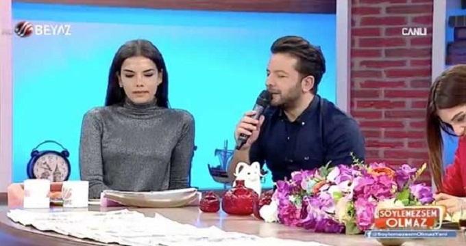 Photo of Nihat Doğan'ın sevgilisi canlı yayını bastı