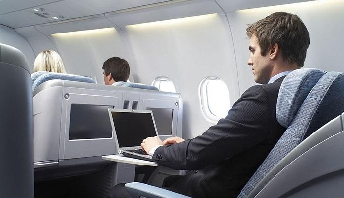 Photo of Uçakta internete az bir zaman kaldı