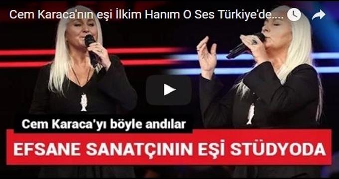 Photo of Efsane sanatçının eşi İlkim Karaca O Ses Türkiye'de