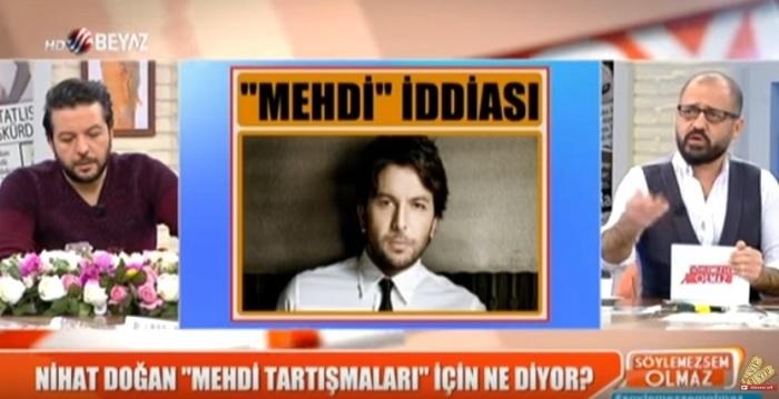 "Photo of Nihat Doğan magazin programında Cumhurbaşkanı Tayyip Erdoğan'ı ""mehdi"" ilan etti"