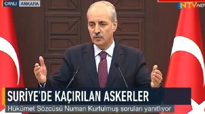 """Photo of Numan Kurtulmuş'tan DEAŞ'ın propagandasını yapan gazetecilere """"ayağınızı denk alın"""" uyarısı"""