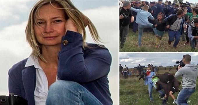 Photo of Sığınmacıya çelme takan kameraman Petra Laszlo hapse girecek mi?