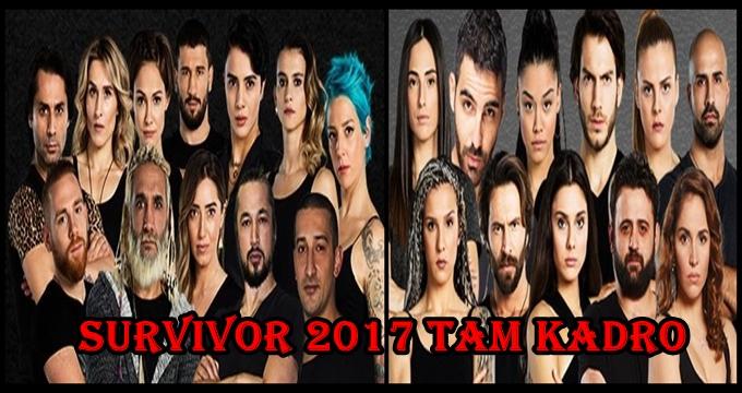Photo of İşte 2017 Survivor Ünlüler ve Gönüllüler tam kadrosu!