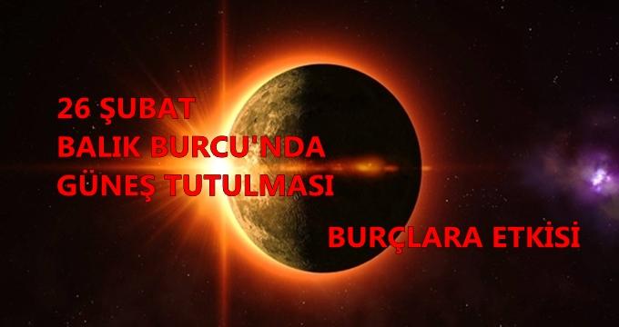 Photo of 26 Şubat Güneş tutulması burçları nasıl etkileyecek? Ünlü astrolog Su Karakuş yorumluyor…