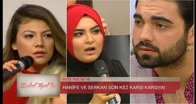 Photo of Hanife, Serkan ve Melisa'dan büyük yüzleşme