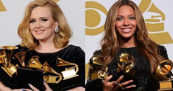 Photo of 2017 Grammy Ödülleri 59. kez sahiplerini buldu, Geceye damgasını hamile Beyonce ve Adele vurdu!
