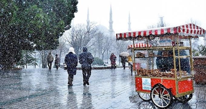 Photo of Hava durumunu okumadan yola çıkmayın!.. İstanbul'a yarın kar geliyor (Hafta sonu yurtta hava durumu)