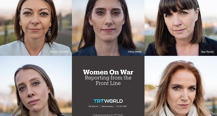 Photo of Kadın savaş muhabirleri TRT World ekranında