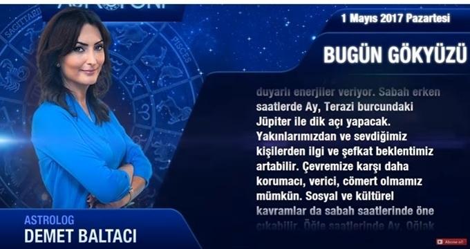 Photo of Ünlü astrologdan 1 Mayıs Burç yorumları