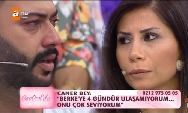 Photo of Esra Erol'un programında evlenip boşanmanın eşiğine gelen Caner ve Berke kozlarını canlı yayında paylaştı