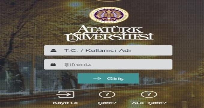 Photo of Atatürk Üniversitesi formasyon duyurusu 2017