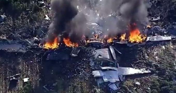 Photo of Son dakika!.. ABD askeri uçağı düştü kurtulan yok!