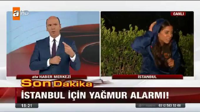 Photo of ATV Ana Haber'de muhabir Tuğba Södekoğlu dolu yağışının kurbanı oldu