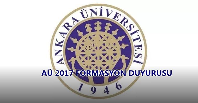 Photo of Beklenen formasyon duyurusu geldi: Ankara Üniversitesi formasyon duyurusu yayınlandı