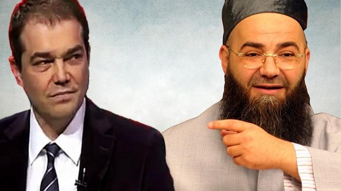 """Photo of Caner Taslaman, Cübbeli Ahmet'e verdi veriştirdi: """"Şarlatan!"""""""