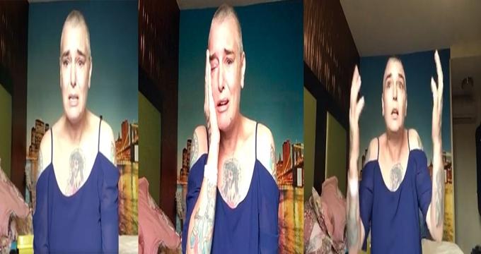 Photo of Ne oldum dememeli… Efsane şarkıcı Sinead O'connor ucuz bir kamyon otelinde intiharın eşiğinde