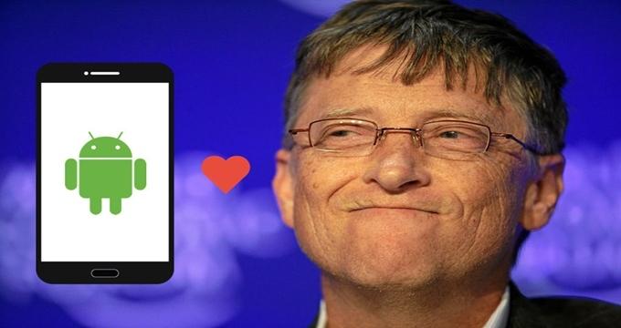 Photo of Bill Gates Apple'dan sıkıldı androide transfer oldu