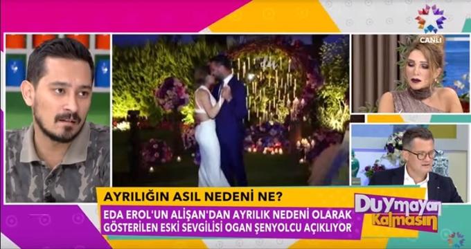 Photo of Alişan ve Eda Erol ayrılığında olay isim Ogan Şenyolcu'dan canlı yayında flaş açıklamalar
