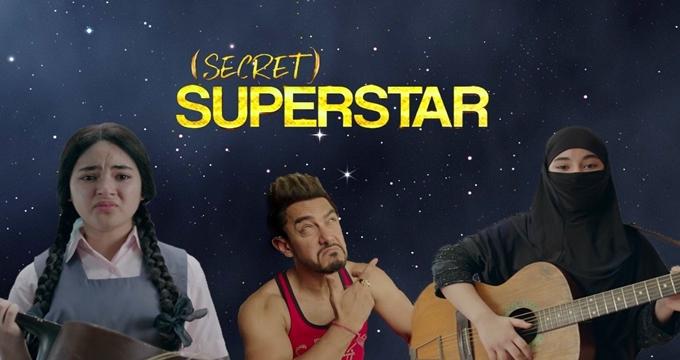 Photo of İzdihamla karşılanan Aamir Khan'ın filmi Secret Superstar'a gişe şoku!