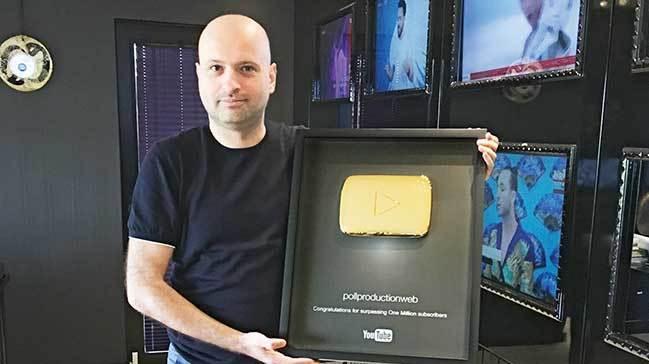 Photo of YouTube'dan Türk şirketi Poll Production'a altın buton ödülü