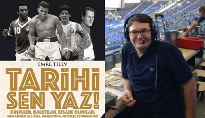 Photo of Spor spikeri Emre Tilev'in kitabı çıktı: Tarihi Sen Yaz