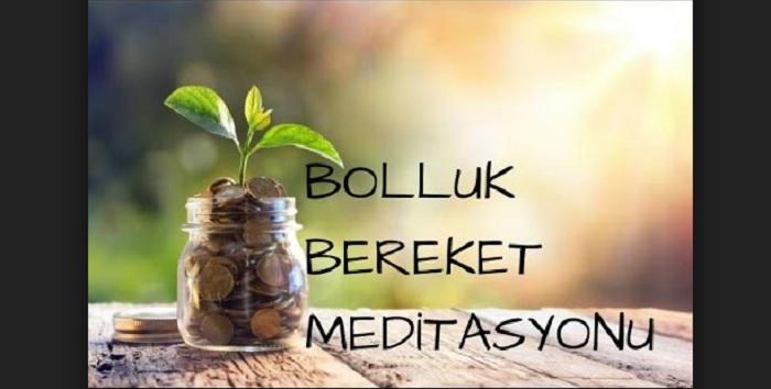 Photo of Bereket meditasyonu
