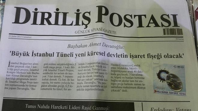Photo of Diriliş Postası o haber için okurlarından özür diledi